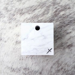 Marble Memo Cube