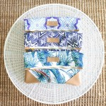 Tropic Fold Over Clutch