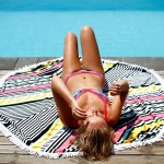 The Ellie Round Beach Towel