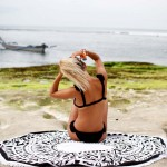The Peyton Round Beach Towel